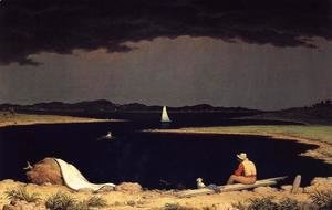 Martin Johnson Heade - Approaching Thunderstorm