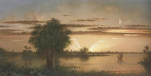 Martin Johnson Heade - Florida Sunrise 1890 1900