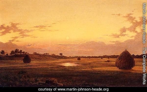 Marsh at Dawn 1859