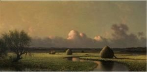Martin Johnson Heade - Sunny Day On The Marsh (Newburyport Meadows)