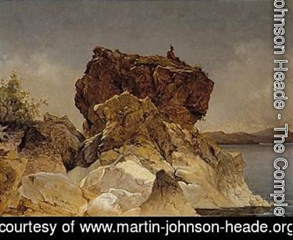 Martin Johnson Heade - The lookout, Burlington, Vermont