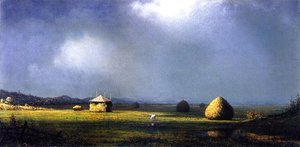 Martin Johnson Heade - A Cloudy Day