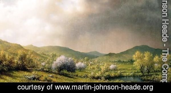 Martin Johnson Heade - April Showers