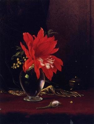 Martin Johnson Heade - Chateau Of Flower