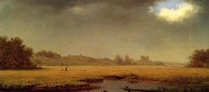 Martin Johnson Heade - Cloudy Day  Rhode Island