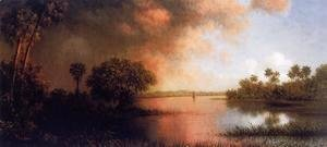 Martin Johnson Heade - Florida River Scene