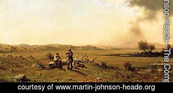 Martin Johnson Heade - Hunters Resting