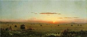 Martin Johnson Heade - Ipswich Marshes