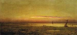 Martin Johnson Heade - Marshes At Boston Harbor