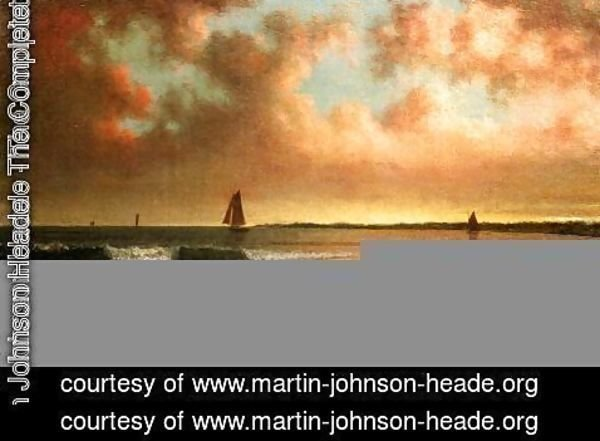 Martin Johnson Heade - Point Judith