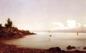 Martin Johnson Heade - Rocky Shore