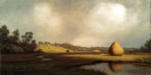 Martin Johnson Heade - Salt Marshes  Newburyport  Massachusetts