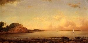 Martin Johnson Heade - Spouting Rock  Newport