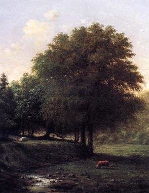Martin Johnson Heade - Summer Landscape With Cattle