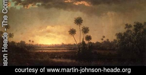 Martin Johnson Heade - Sunrise  Florida