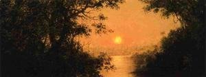 Martin Johnson Heade - Sunset Aka Jungle Scene