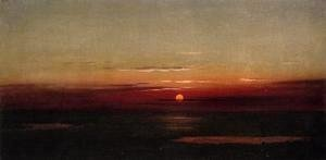 Martin Johnson Heade - Sunset Of The Marshes