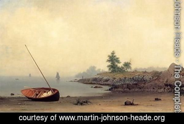 Martin Johnson Heade - The Stranded Boat