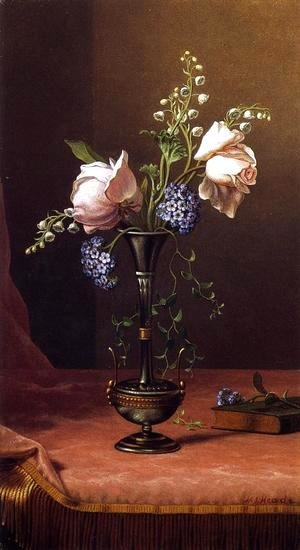 Victorian Vase With Flowers Of Devotion